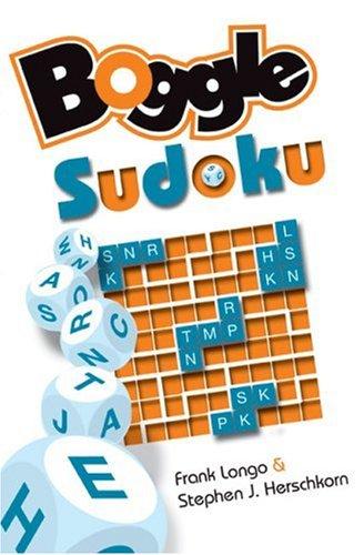 BOGGLE Sudoku: Longo, Frank; Herschkorn,