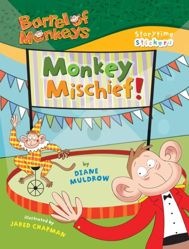 9781402761294: Storytime Stickers: BARREL OF MONKEYS: Monkey Mischief!