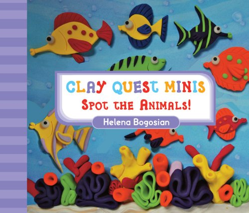 9781402762482: Clay Quest Minis: Spot the Animals!