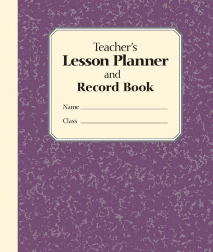9781402762734: Teacher's Lesson Planner and Record Book: 0