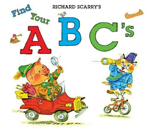 9781402762949: Richard Scarry's Find Your ABC's