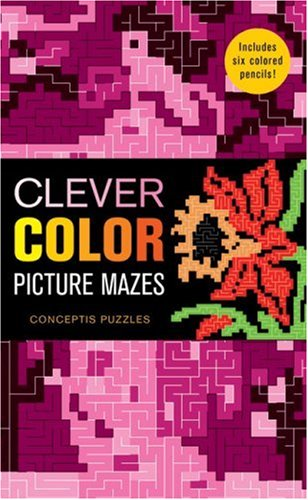 9781402763434: Clever Color Picture Mazes
