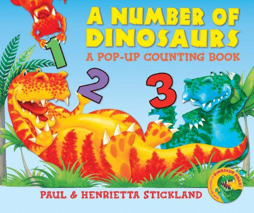 9781402764790: A Number of Dinosaurs: A Pop-Up Counting Book