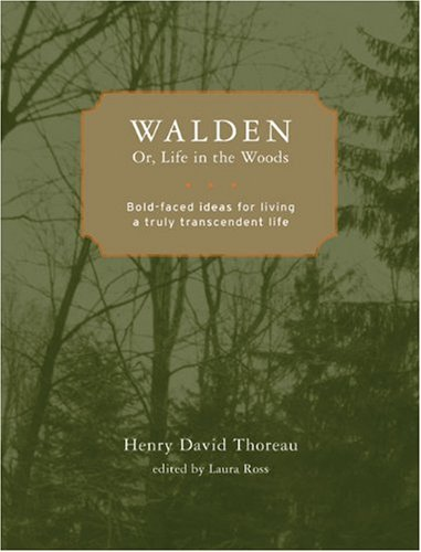 9781402766671: Walden; or, Life in the Woods: Bold-faced Ideas for Living a Truly Transcendent Life (Bold-Faced Wisdom)