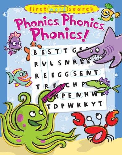 9781402767050: First Word Search: Phonics, Phonics, Phonics!