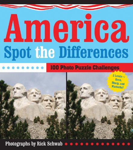 9781402769016: America Spot the Differences: 100 Photo Puzzle Challenges
