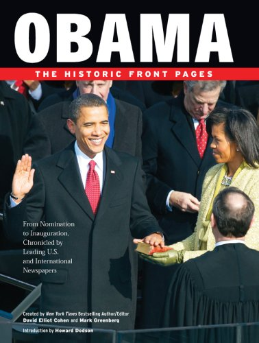 9781402769023: Obama: The Historic Front Pages