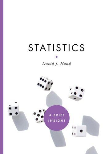 Statistics (A Brief Insight): Hand, David J.