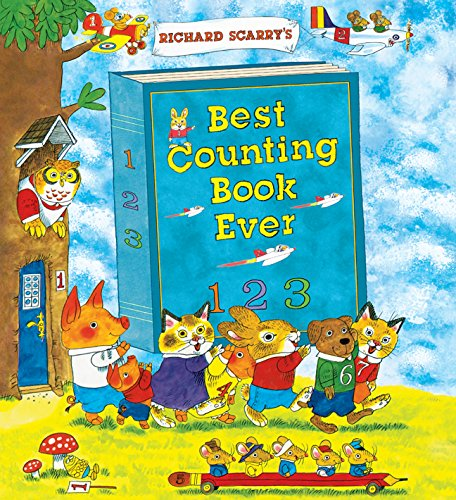 9781402772177: Richard Scarry's Best Counting Book Ever