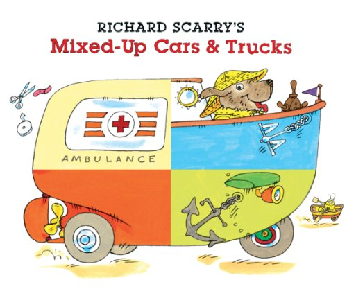 9781402772207: Richard Scarry's Mixed-Up Cars & Trucks