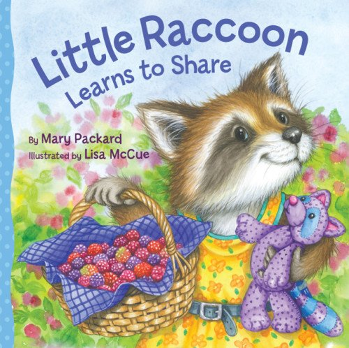 9781402772306: Little Raccoon Learns to Share (Watch Me Grow)