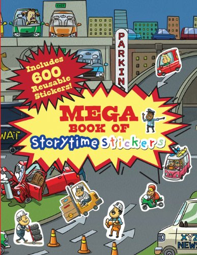 Mega Book of Storytime Stickers: Shulman, Mark; Murray,