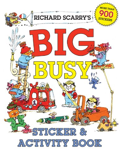 Richard Scarrys Big Busy Sticker Activity Book