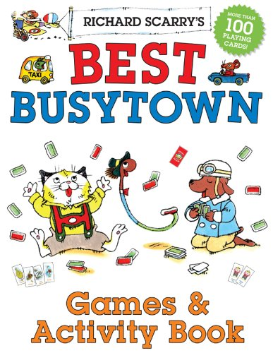 9781402773150: Richard Scarry's Best Busytown Games & Activity Book