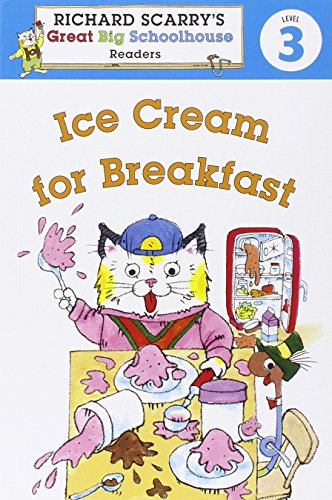 Richard Scarry's Readers (Level 3): Ice Cream: Farber, Erica