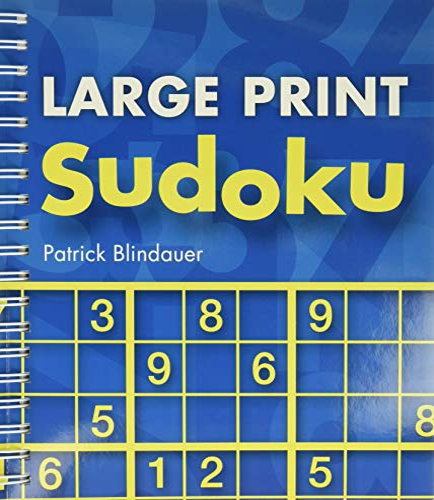 9781402773532: Large Print Sudoku
