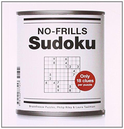 9781402777257: No-Frills Sudoku: Only 18 Clues Per Puzzle