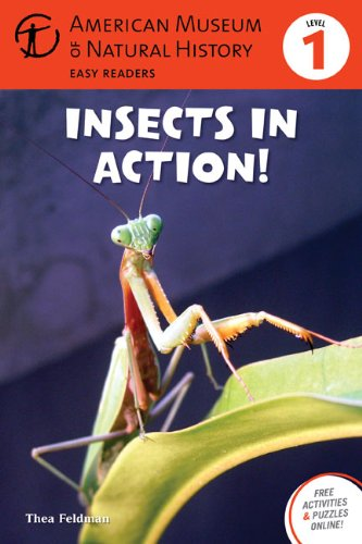 9781402777875: Insects in Action: (Level 1) (Amer Museum of Nat History Easy Readers)