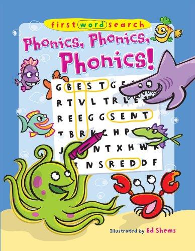9781402778056: First Word Search: Phonics, Phonics, Phonics!