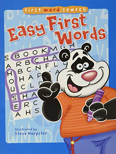 9781402778087: First Word Search: Easy First Words