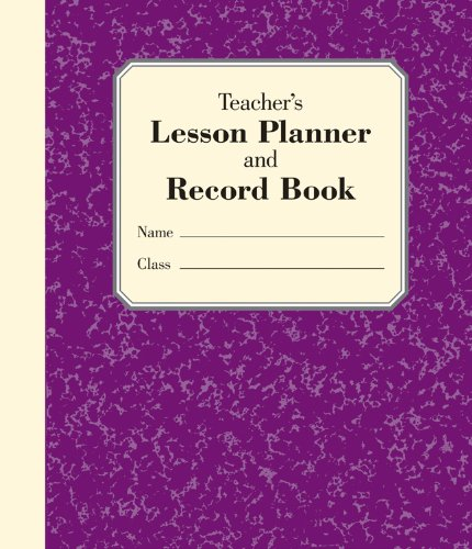 9781402778261: Teacher's Lesson Planner and Record Book
