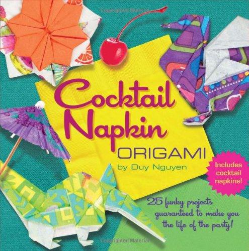 9781402780387: Cocktail Napkin Origami