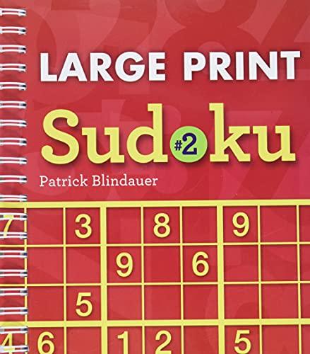 9781402784071: Large Print Sudoku #2