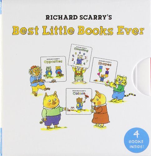 Richard Scarry's Best Little Books Ever (My Mini Book Collection): Scarry, Richard