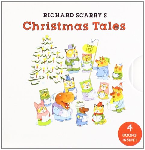 9781402785672: Richard Scarry's Christmas Tales (My Mini Book Collection)