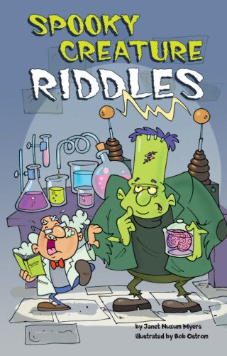 9781402786693: Spooky Creature Riddles