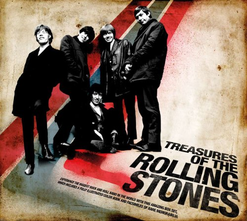 9781402787607: Treasures of the Rolling Stones