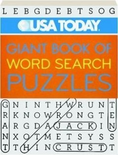 9781402793561: USA Today Giant Book of Word Search Puzzles