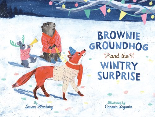 9781402798368: Brownie Groundhog and the Wintry Surprise
