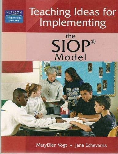 9781402929731: Teaching Ideas for Implementing the SIOP Model