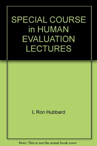 9781403111012: Special Course in Human Evaluation