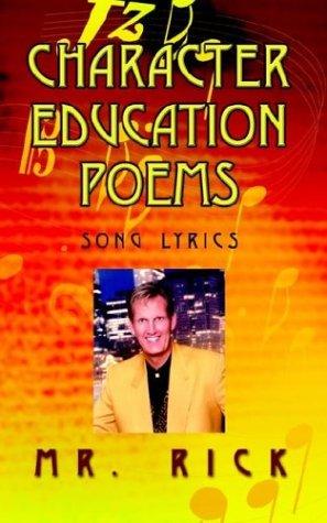 9781403321619: Character Education Poems: Song Lyrics