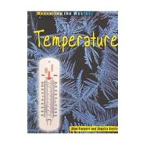 9781403401298: Temperature (Measuring the Weather)