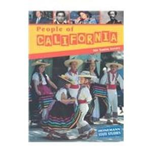 9781403405593: People of California (Heinemann State Studies)