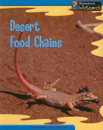 9781403458629: Desert Food Chains (Food Webs)