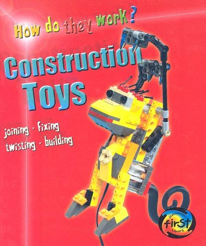 9781403468260: Construction Toys (Heinemann First Library)