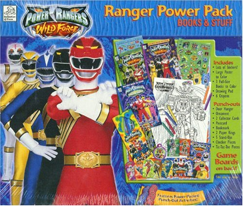 9781403700728: Power Rangers: Ranger Power Pack (Books & Stuff Kits)