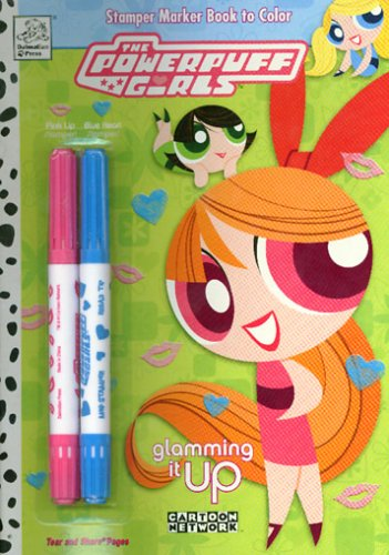 9781403707338: Powerpuff Girls Stamper Marker Book to Color