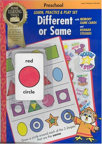Home Learning Tools, Different or Same (Preschool Learn, Practice and Play Set): Dr. Ed Tronick