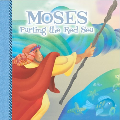 9781403709646: Moses Parting the Red Sea (Cheryl Mendenhall 8x8's)