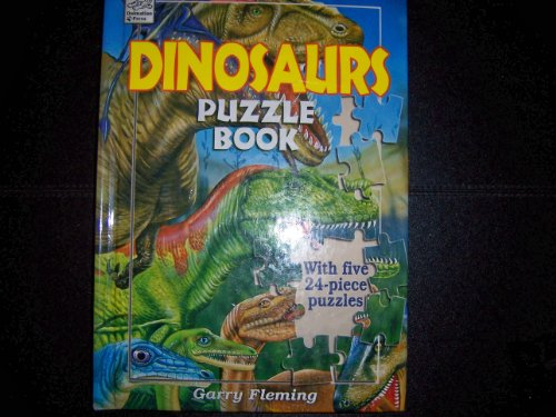 9781403710888: Dinosaurs Puzzle Book with Five 24-piece Puzzles