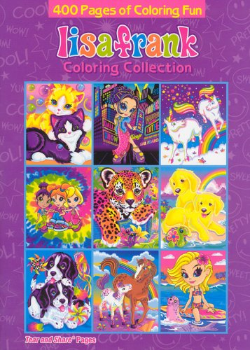 9781403711540: Lisa Frank Coloring Collection: Tear and Share Pages