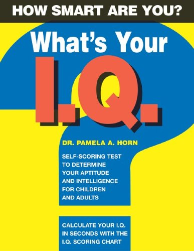 9781403711878: What's Your IQ? (IQ Test Books)