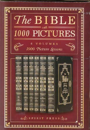 The Bible with 1000 Pictures (6 Volume Set): Spirit Press