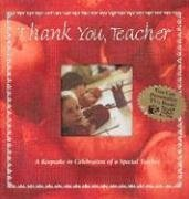 9781403720368: Thank You Teacher