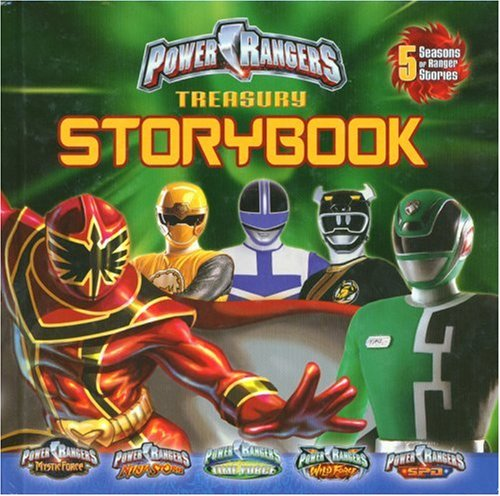 9781403723499: Power Rangers Treasury Storybook